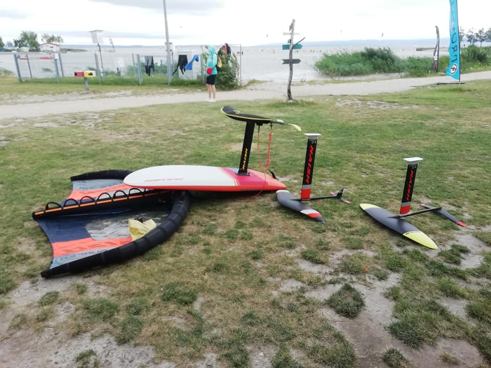Willkommen im #Wingerclub #Wingsurfing #Naish