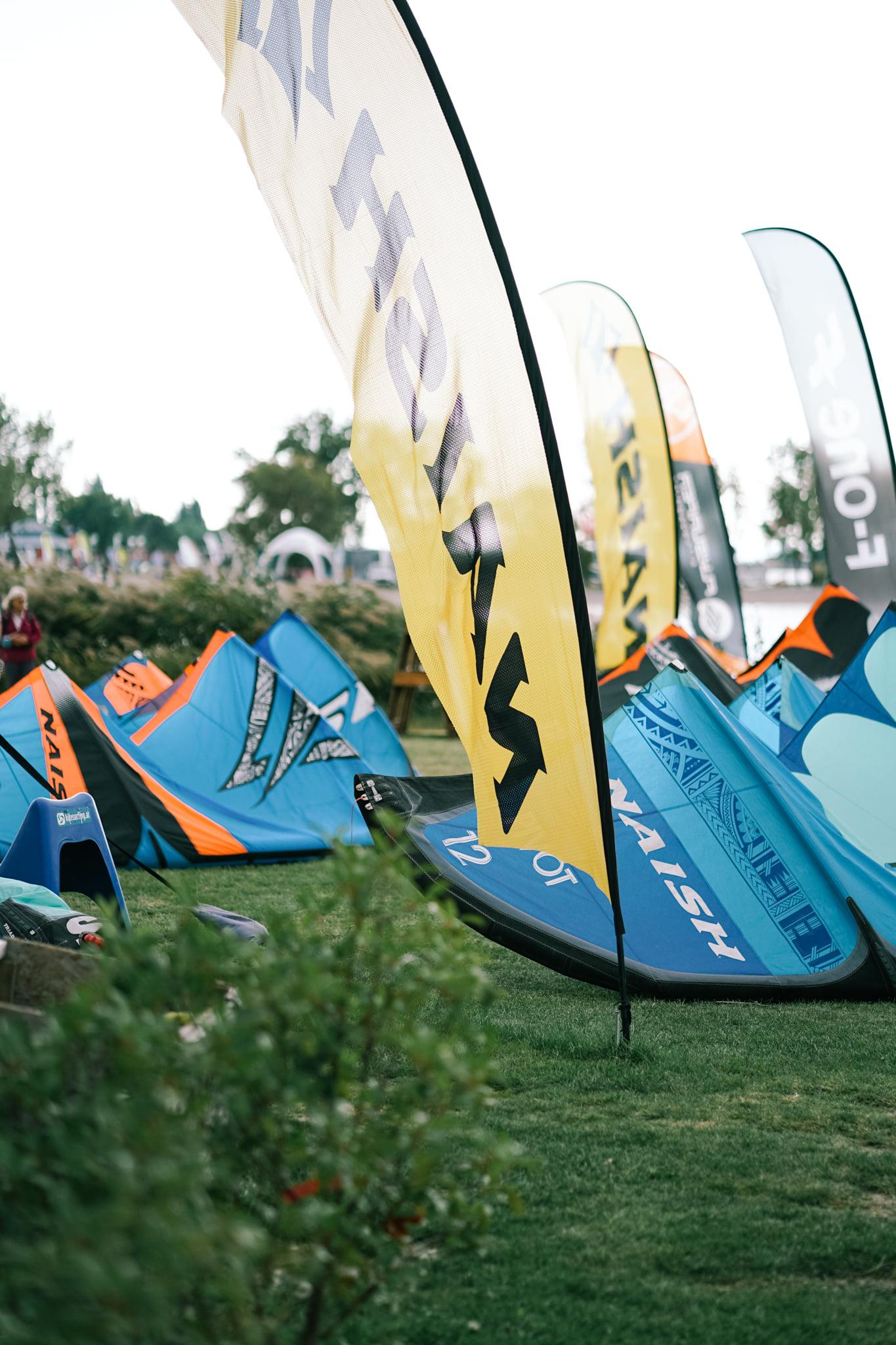 Impressionen vom #Naish #Testival #podersdorf #kitesurfingat...
